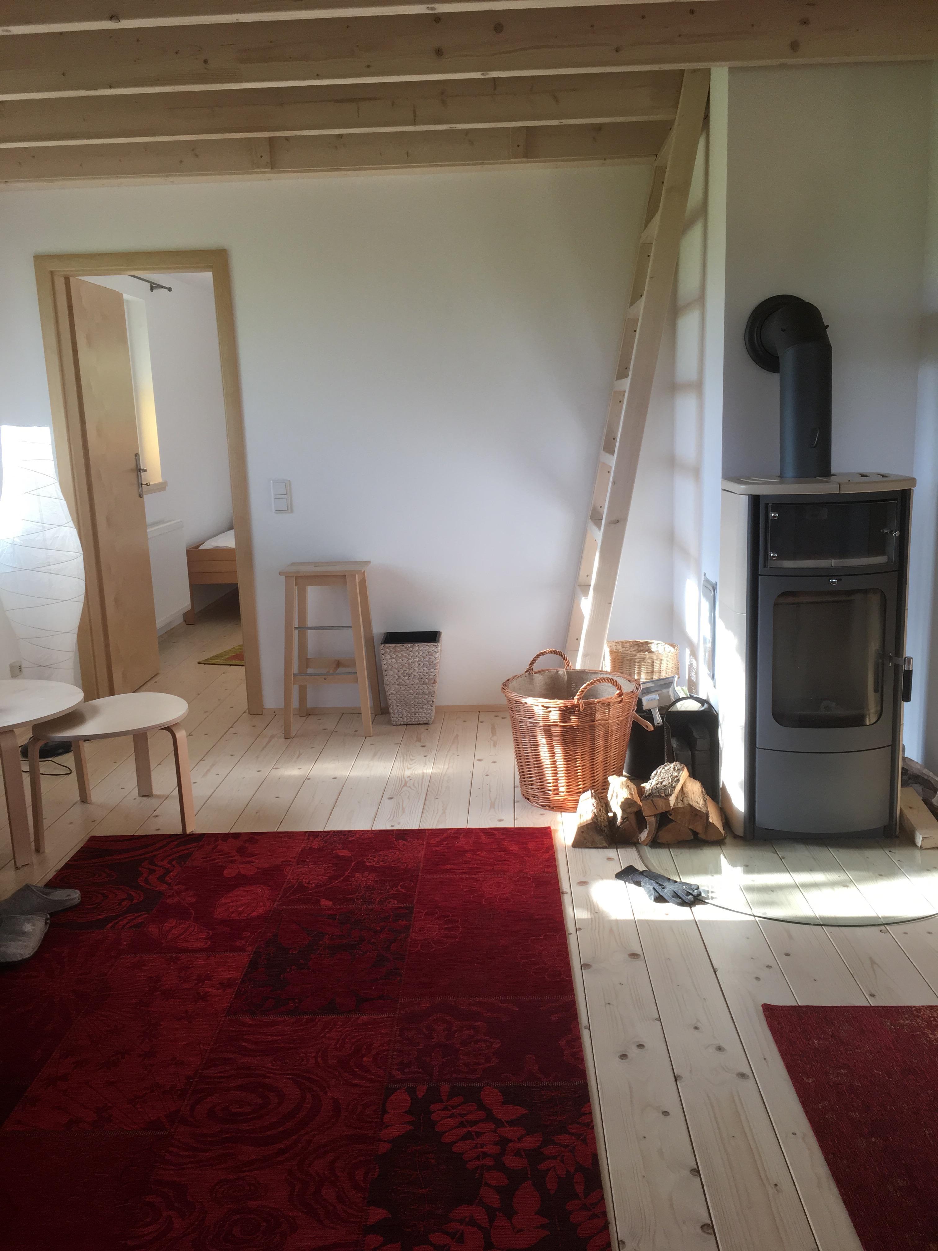 Wohnzimmer Ferienhaus Worpswede