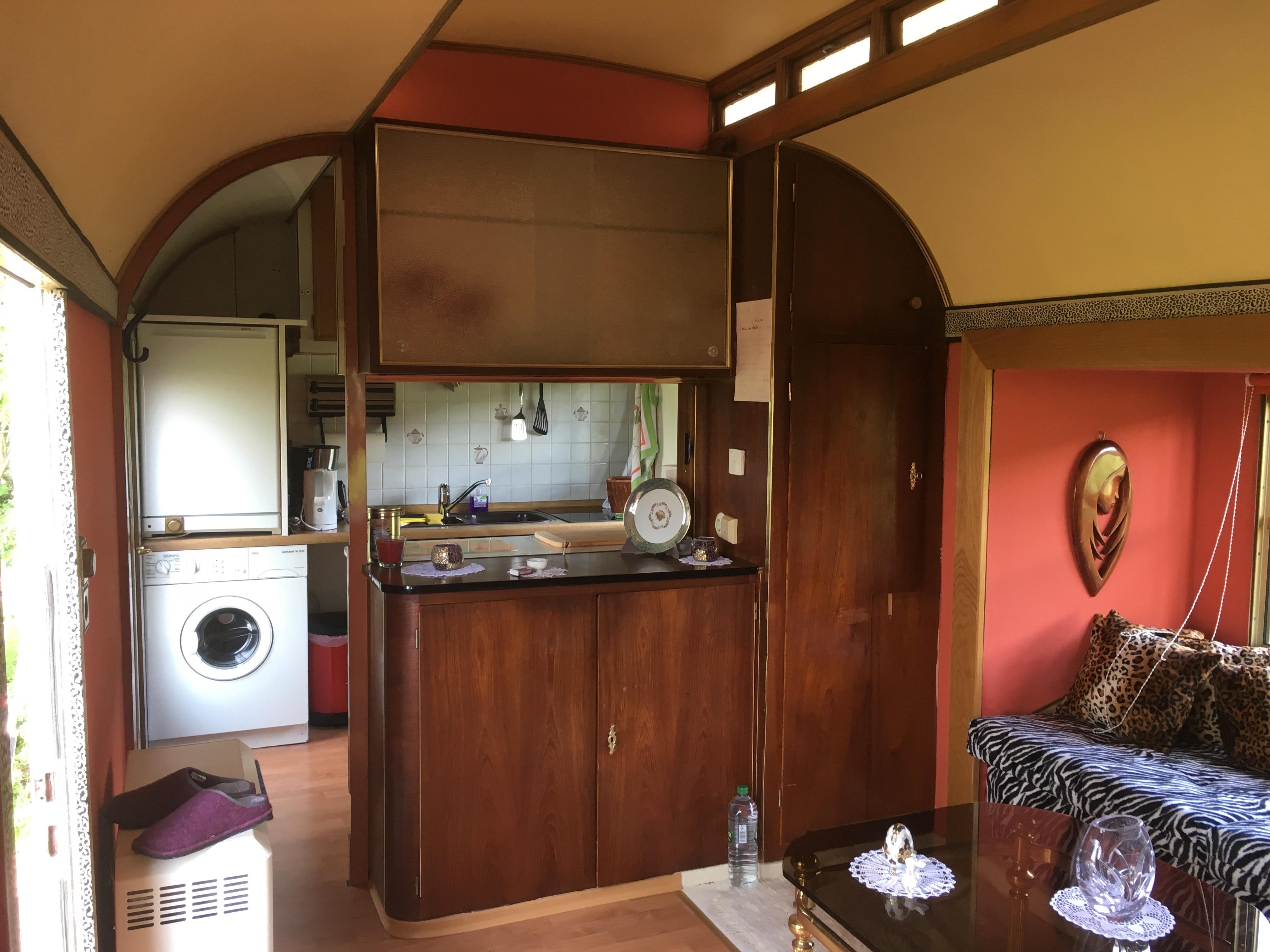 Zirkuswagen Küchenzeile Vermietung